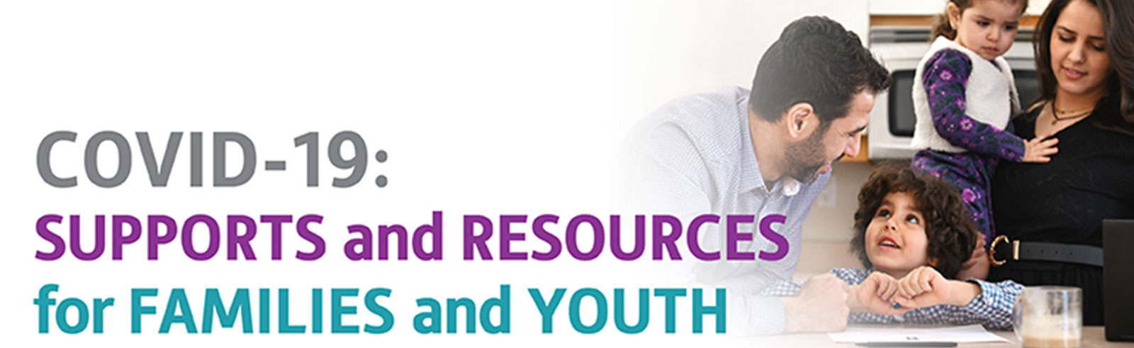 parents and children:  supports and resources title