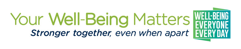 Your Well-Being Matters tagline