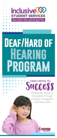 Deaf/Hard of Hearing Program brochure
