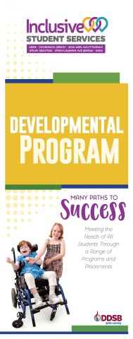 Developmental Program brochure