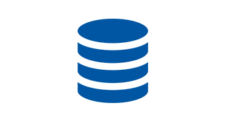 Database stack icon