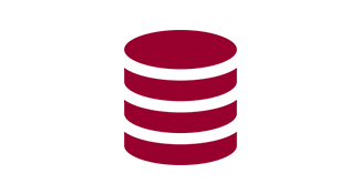 Database stack logo