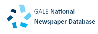 GALE National Newspaper Index logo