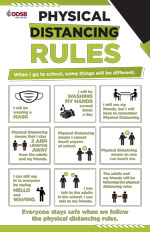 Poster: Physical Distancing Rules