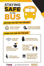 Poster:  School Bus Safety